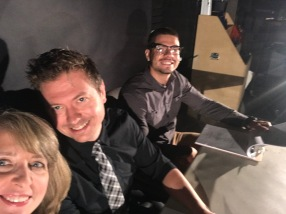 Disaster Pitches behind the scenes selfie